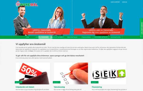 Розробка і дизайн сайту за замовленням разлчіних послуг
