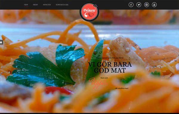 Розробка і дизайн сайту ресторану