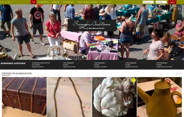 Розробка і дизайн сайту з продажу антикваріату