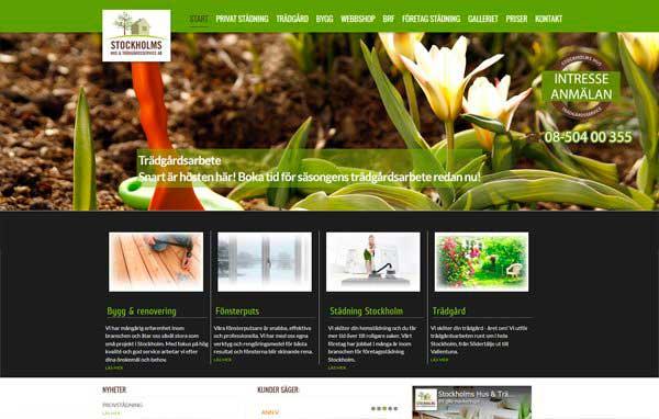 Розробка і дизайн сайту клінінгової компанії