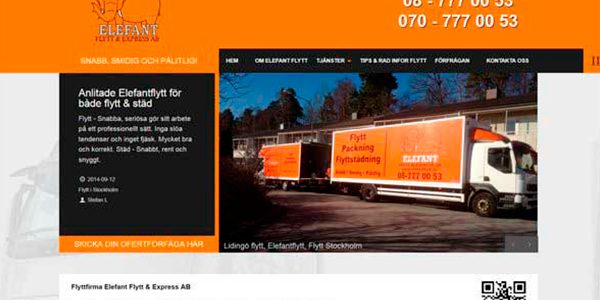 Разработка и дизайн сайта по грузоперевозкам